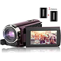 Video Camera Camcorder AiTechny HD 1080P Digital Camera...