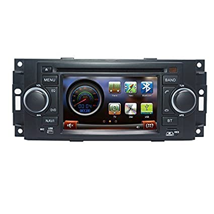 amazon com carsong car dvd player gps navigation for chrysler 300c rh amazon com