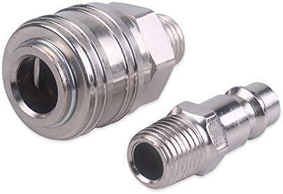 GENERICS LSB-Werkzeuge, Druckluftfilter Wasserabscheider Ölabscheider Schnellkupplung 1/4
