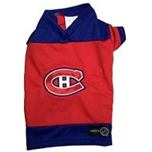 Karush Activewear NHL Montreal Canadiens Hockey Jersey (2X-Small)