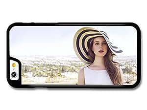 Lana Del Rey Hat Portrait Singer Popstar case for iPhone 6 A10149