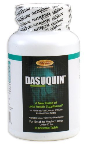 Nutramax Dasuquin for Dogs Small/Med 84 Chew Tab, My Pet Supplies