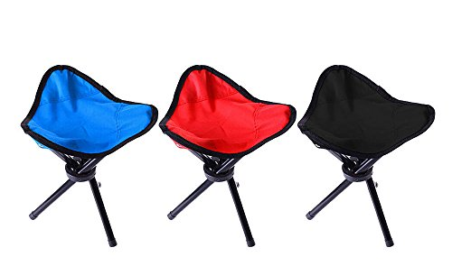 Outdoor Portable Travel Slacker Chair Folding Stool for Camping Fishing Hiking / Color will be sent by - Airport Terminal Houston