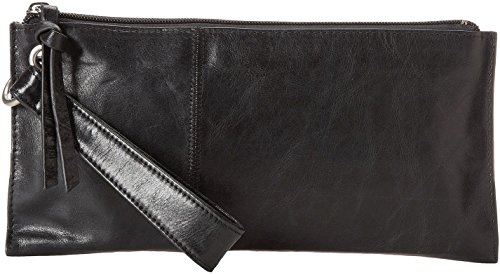 (Hobo Womens Leather Vintage Vida Clutch Wallet (Black))