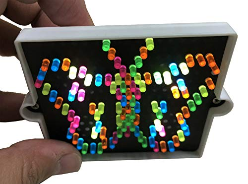 Big Game Toys~World's Smallest LITE Brite Art Toy Doll House Miniature Light Bright Pegs, Paper, Mini