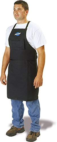 Park Tool SA-3 Deluxe Shop Apron with Header,  Black ()