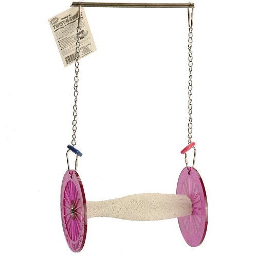Polly's Twist-N-Swing for Pet Birds, Medium -