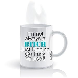 Amazon Funny Sarcastic Attitude Coffee Mug by Crazy Cool Mugs