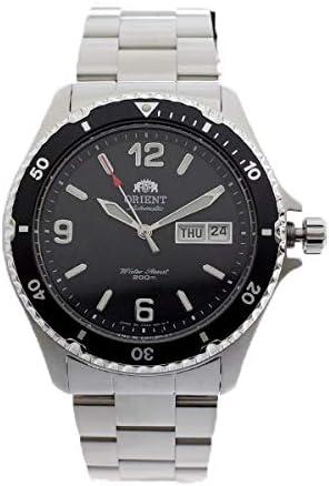 オリエント ORIENT 腕時計 SAA02001B3 FAA02001B3 自動巻き ブラック シルバー【メンズ】 [並行輸入品]