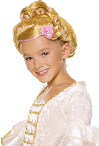 Rubie's Sophisticated Princess Child's Costume Wig, Blonde