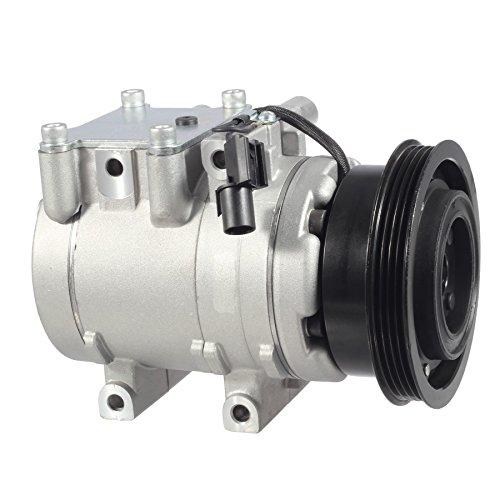 Hyundai Tiburon A/c Compressor (AC Compressor & A/C Clutch For 01-06 Hyundai Elantra 2.0L 03-08 Hyundai Tiburon 2.0L 05-09 Hyundai Tucson 2.0L)