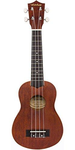 Mitchell MU40 Soprano Ukulele Natural by Mitchell