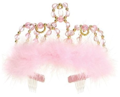 Great Pretenders Princess Costumes (Great Pretenders Princess Tiara -Pink/Gold)
