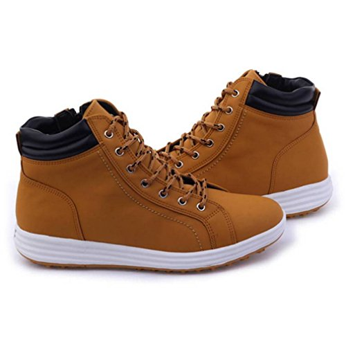 Resistant Mens Water Brown Simple Toe EpicStep Comfort Boots Soft Work vqIgcpw