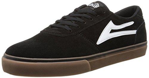 Lakai Men's Manchester Skate Boarding Shoe, Black/Gum, 11 M US