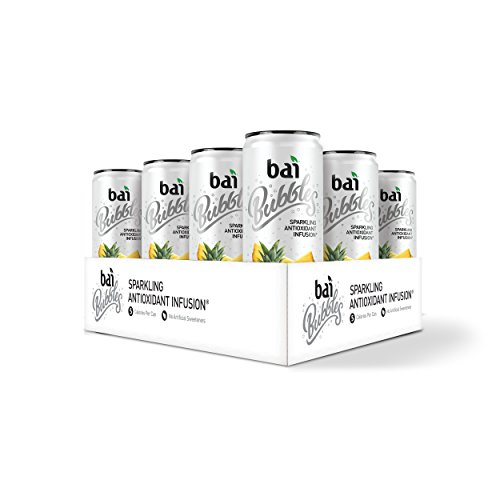 Pineapple Bubble (Bai Bubbles, Sparkling Water, Peru Pineapple, Antioxidant Infused Drinks, 11.5 Fluid Ounce Cans, 12 count)