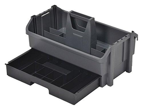 (Tool Organizer/Caddy, Gray w/Black Drawer)