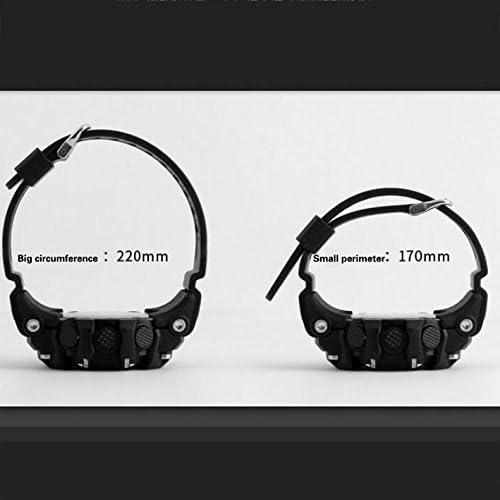 Montre de Mode,Compteur électronique étanche Montre Design Minimaliste Parfait pour Les Sports d'intérieurs et extérieurs-A