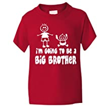 Print4U I'm Going To Be Big Brother Funny Boys T-Shirt Age 1-13