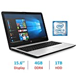 HP 15.6 Laptop i3 Silver