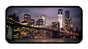 Hipster iphone 5 sale cases brooklyn bridge TPU Black for Apple iPhone 5/5S
