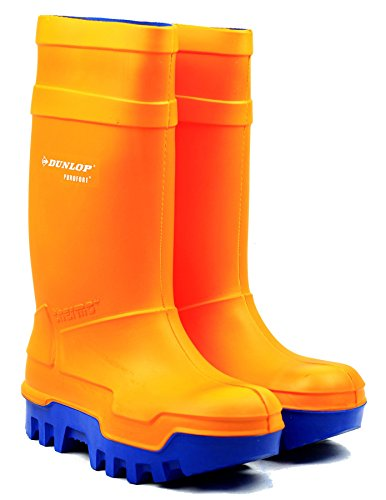 Pour Homme Dunlop C662343Purofort Thermo toute sécurité bottes en caoutchouc PU Antidérapant sur