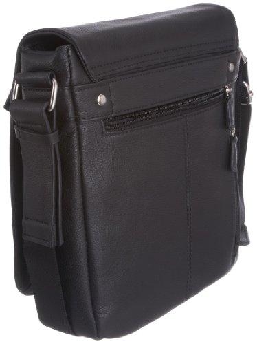 Leonhard Heyden  6600-001, Borse tascapane, Unisex adulto, Nero (Schwarz),