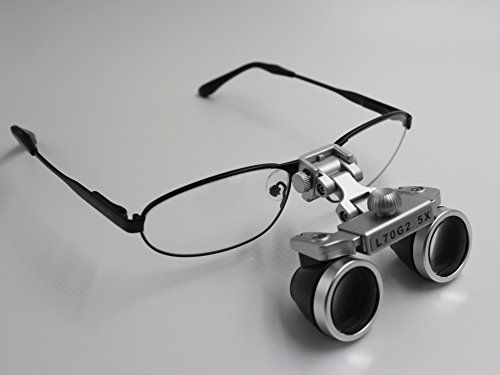 NORTHOPE Brand-New Best Optics Waterproof L70G 2.5X 420mm Surgical Medical Dental Binocular Loupes with Nickel Alloy Small Sport Frame by NORTHOPE