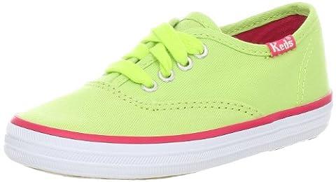 Keds Original Champion CVO Canvas Sneaker (Toddler/Little Kid/Big Kid),Lime,12 M US Little Kid