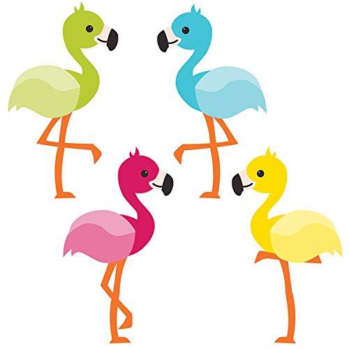 Carson Dellosa School Pop Flamingos Mini Cut-Outs (120211) - Flamingo Cut Out