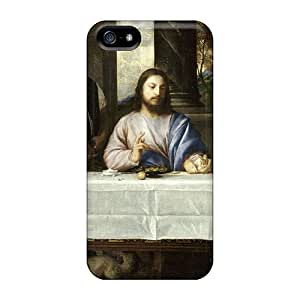 QjK29193Fuiz Snap On Cases Covers Skin For Iphone 5/5s(by Tiziano (last Supper))