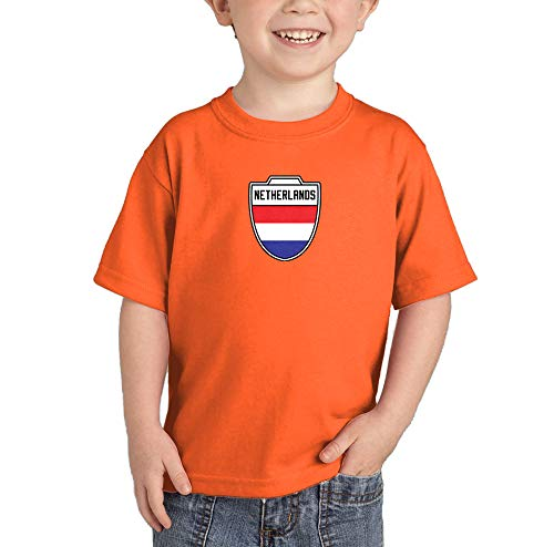 Womens Country Soccer Jersey - Netherlands - Country Soccer Crest Infant/Toddler