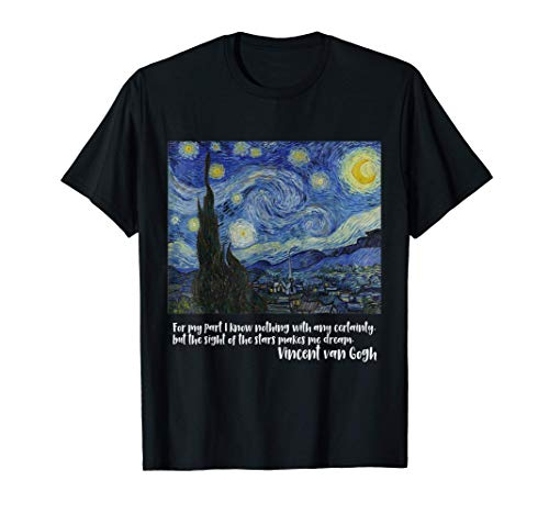 Noche estrellada de Vincent van Gogh | Pintura famosa Cami