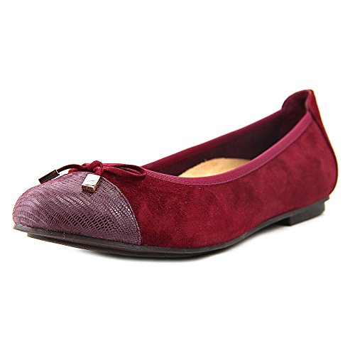 Leather Minna Vionic Merlot Shoes Gerrit Womens 359 fPOHp