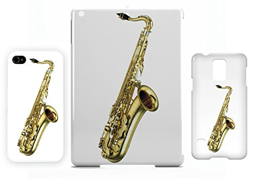 Tenor Saxophone iPhone 4 / 4S cellulaire cas coque de téléphone cas, couverture de téléphone portable