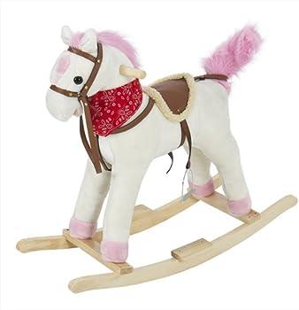 Girls Rocking Horse Toy With Sound