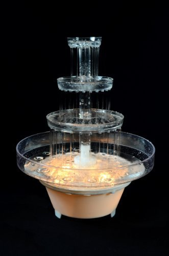FANCI WATER FOUNTAIN FOR WEDDING CAKE - Lighted Punch Fountain
