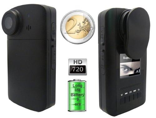 13 opinioni per JMC Super Cam HD90 Mini Telecamera HD 720p a Batteria con Autonomia 9 Ore in