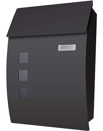 Voluker Buzón correos exterior,45x 10 x 32 cm,Buzón de exterior,Buzón