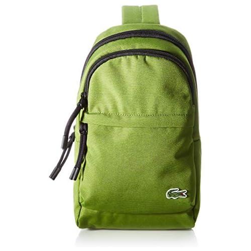 chollos oferta descuentos barato Lacoste NH3139 Body Bag para Hombre Melisse Noir Talla única