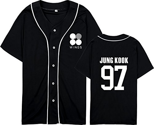 T Col Shirt Manches Populaire BTS Lovers Bangtan Boys Tayaho Kpop BTS Tshirt Black12 Unisexe Chemises Courtes Top Rond Pcf4FWIqv7