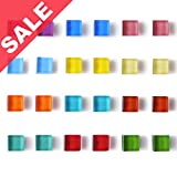 DIYSELF 24 pack fridge magnets for Whiteboard magnets mini...