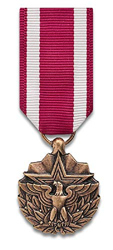 Meritorious Service mini-Medal, bronze - Service Ribbon Medal Meritorious