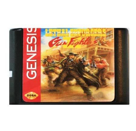 Taka Co 16 Bit Sega MD Game Lethal Enforcers Gun Fighters II 16 bit MD Game Card For Sega Mega Drive For SEGA Genesis