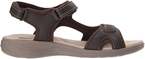 Leather Sandals Brown Tumbled Jade Women's Saylie Clarks 60qYw