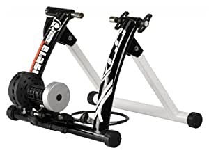 Xlc BETA–Bicicleta estática, color blanco, 69x 38x 30.5cm