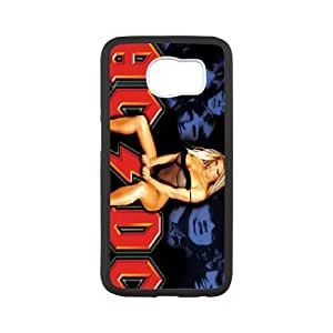 High Quality Phone Back Case Pattern Design 15AC/DC,Rock Band Series- For Samsung Galaxy S6