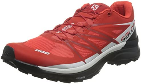 low priced 5b7d2 b5241 Salomon Men's S-Lab Sense 6 SG Shoes, Red, AU9: Amazon.com ...