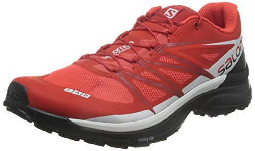 Salomon S-Lab Wings 8 Unisex Trail Running Shoes – SS17 – 8 – Black For Sale