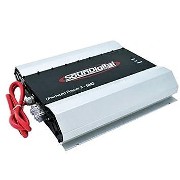 SDUNLIMITEDII SOUND DIGITAL 100,000W, 1OHM, RCA INPU - Set of
